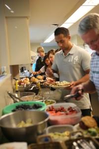 Potluck dinner @ Menno Simons Centre | Vancouver | British Columbia | Canada