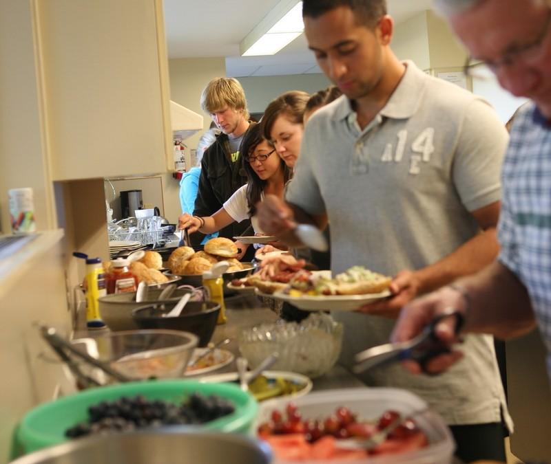 Potluck lunch + Congregational Meeting